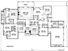large ranch floor plans ranch house plans with sunroom homes zone