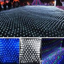 cheap 2x2m 144 led outdoor net lights string