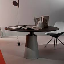 Contemporary Dining Table Contemporary Dining Table Mdf Steel Leather Mesa Due By