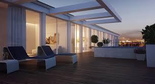 Duplex Apartment Exterior Terrace Interior Design Ideas - Apartment terrace design