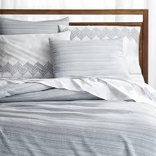 nasoni duvet covers and pillow shams crate and barrel