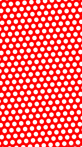 wallpaper red polka dots hexagon white ff0000 ffffff diagonal 5