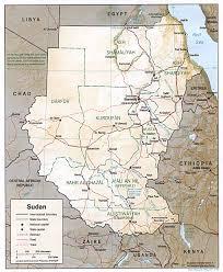 africa map khartoum sudan maps perry castañeda map collection ut library