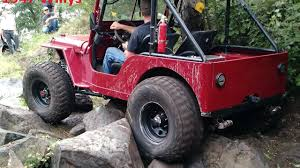 willys jeep off road 1947 jeep willys cj2a rock crawler build interview and trail ride
