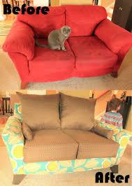 mandy made lovin u0027 my new loveseat totally rad reupholstery