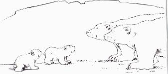 coloring page the little polar bear coloring pages 38