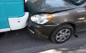 what should i do if i am in a car crash on a private road in