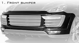 Porsche Cayenne 958 Body Kit - cayenne 958 2 topcar u2013 black art group