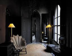 interior design black shoise