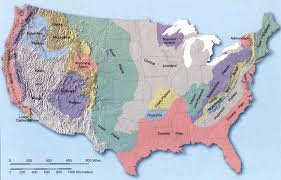 map us landforms us and canada landform map landforms of the united states of