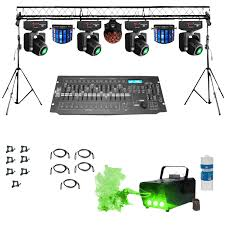 dj lighting truss package prox complete portable multi size lighting truss system with 4