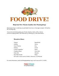 archive thanksgiving food drive