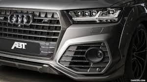 Audi Q7 Matte Black - 2017 abt sq7 widebody based on audi q7 caricos com