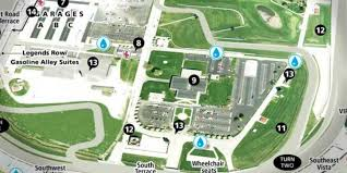 Map Indy Map Indianapolis Motor Speedway