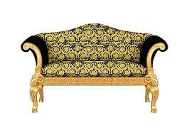 Versace Sofa Love Seat Luxury Sofa Covered In Versace Gold Black Vanity Barocco
