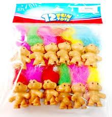 Favor Toys by 12x Toys Mini Lucky Troll 4cm Pencil Top Favor