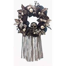 Home Depot Holiday Decorations Outdoor Halloween Wreaths U0026 Garlands Outdoor Halloween Decorations The
