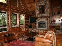 Log Home Interior Decorating Ideas by Home Design Log Cabin Interior Enchanting In Inside 79 Wonderful