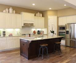 Painted Kitchen Cabinet Ideas Freshome Encouraging Knotty Alder For Verona Finish Andappliance End Panels