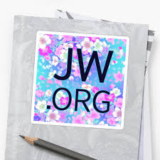 imagenes jw org es jw org bright blue and pink flowers stickers by jw stuff redbubble
