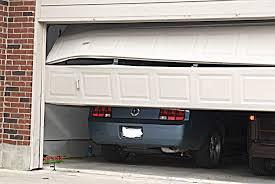 Overhead Garage Door Problems Broken Garage Door Needing Seattle Property Manager