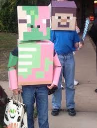 Minecraft Halloween Costumes Homemade Minecraft Costume Ideas Fun Diy Costumes Halloween