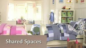 Shared Bedroom How To Divide Shared Space Efficiently Pottery Barn Kids Youtube
