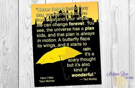 how i met your quote ted mosby the universe has a plan