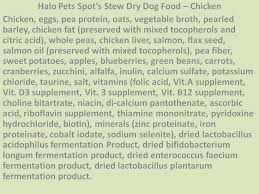comparing science diet and halo dog foods feeding fido and fluffy