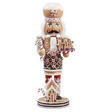 kurt adler deluxe gingerbread chef wooden nutcracker