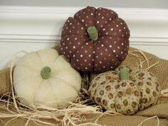 fabric pumpkins muslin pumpkins stenciled pumpkins modern