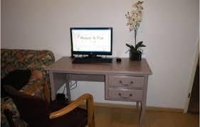 bureau repeint repeindre un bureau ancien avant après