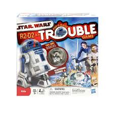 amazon com trouble star wars r2 d2 is in trouble game by hasbro