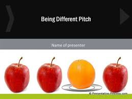 different sales pitch template