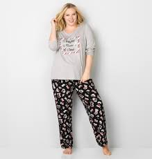 shop s plus size pajamas avenue
