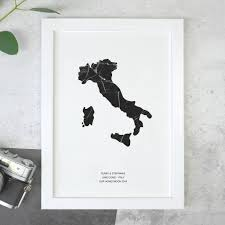 Kuwait On A Map Personalised Street Map Print Gifts Notonthehighstreet Com