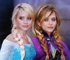 anna from frozen hairstyle disney ashley olsen olsen twins mary kate olsen anna frozen ice