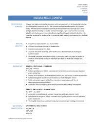 Starbucks Job Description For Resume by Barista Resume Objective Starbucks Job Description For Resume