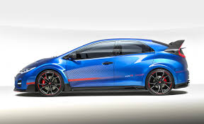 subaru biru paris motor show 2014 honda civic type r concept