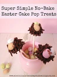 easy diy easter cake pops fun crafts kids