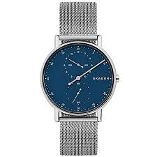 mesh bracelet watches images Skagen skw6389 men signatur one hand steel mesh bracelet watch jpg