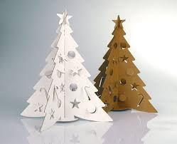 tiny tabletop cardboard tree from cloudgate design