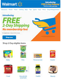 walmart launches free 2 day shipping without a membership on