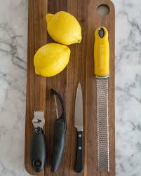 how to easily zest lemons limes and oranges kitchn