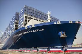 largest ship in the world slideshow photos from inside one of the world s largest cargo ships