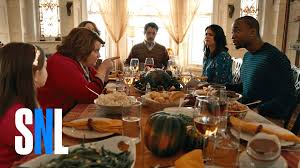 Thanksgiving Dinner Table by A Thanksgiving Miracle Snl Youtube
