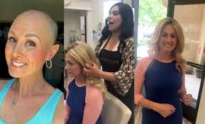 donate hair complete strangers donate hair for cancer patient s wig storytrender