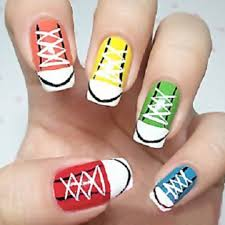 sports nail art nail art 28awesome base ball nail designs design