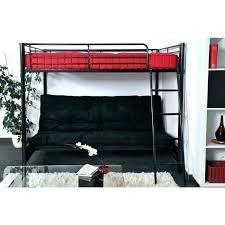 lit mezzanine et canapé lit superpose canape lit mezzanine lit mezzanine avec clic clac noir