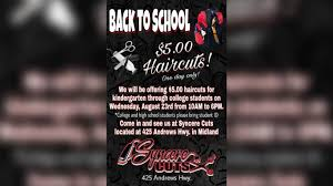 local barbershop offering inexpensive haircuts for students ahead